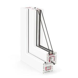 Вікна з профільних систем REHAU Е70