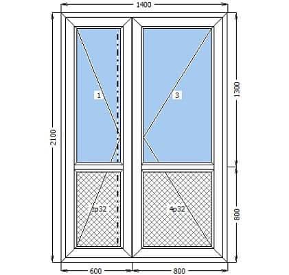 Переваги пластикових дверей